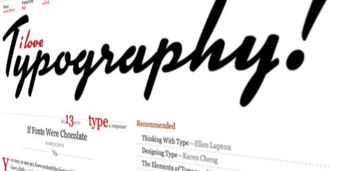 Kinescope on I Love Typography