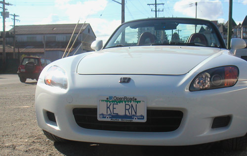 KERN license plate