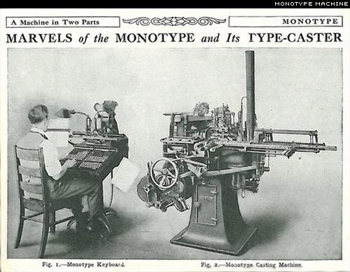 monotype machine