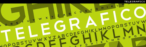 telegrafico free font