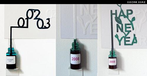 oscar diaz self-painting calendar