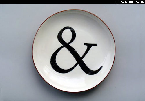 ampersand plate