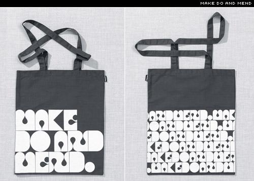 make do and mend bag from Banka