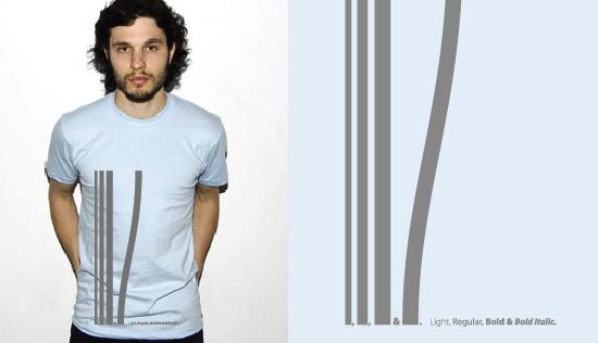 typophile t-shirt