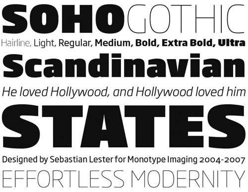 soho gothic by Seb Lester