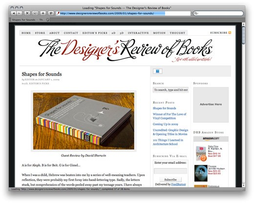 designer's review of books