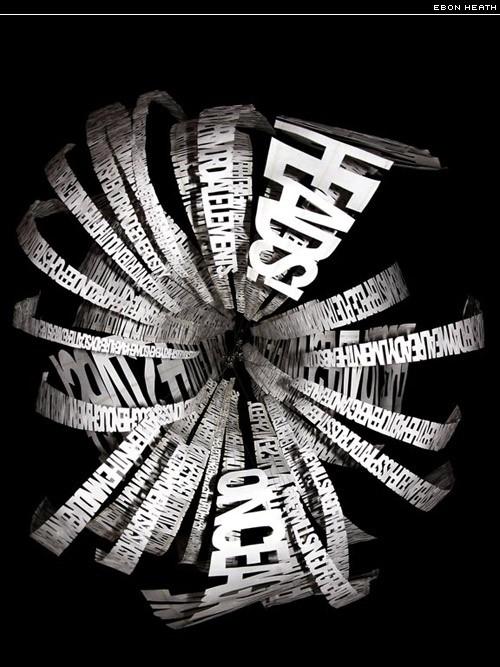ebon heath typographic ballet