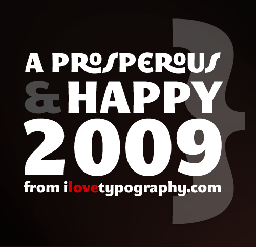 happy and prosperous 2009 from iLT