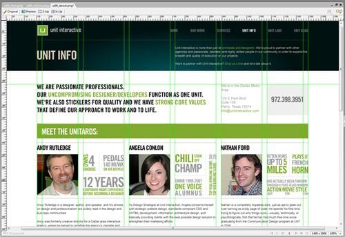 unit interactive redesign
