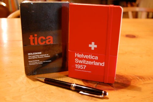 moleskine helvetica limited edition