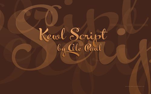 kewl script desktop wallpaper