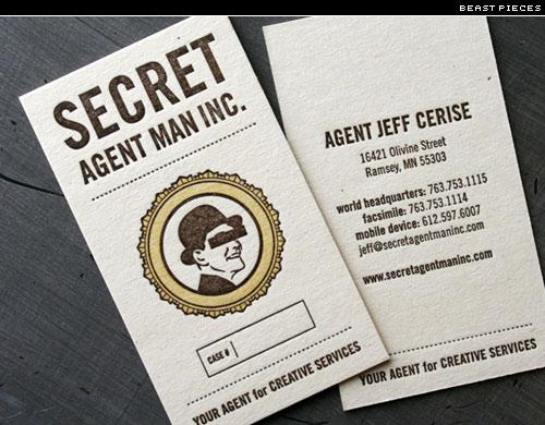 secret agent cards