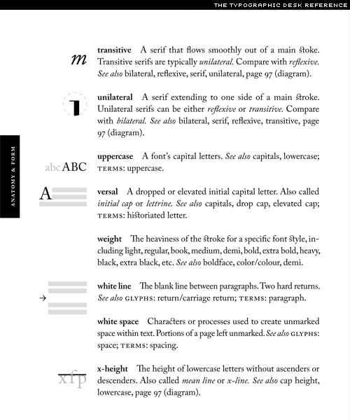 tdr, the typographic desk reference
