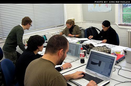 reading uni type design. photo by dan reynolds