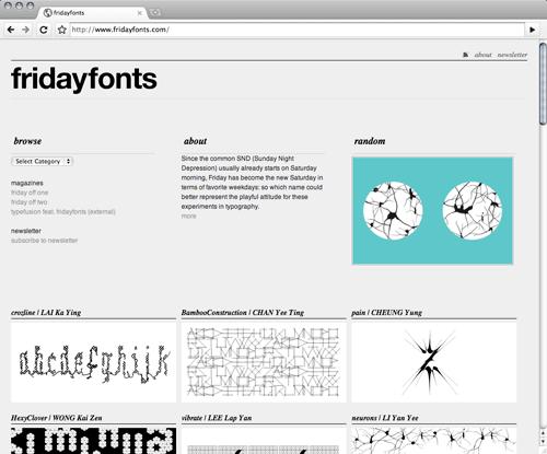 friday-fonts