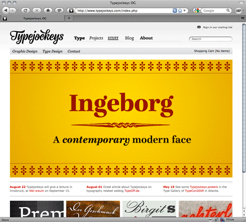typejockeys type foundry from Austria