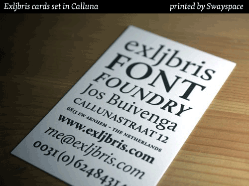 Calluna cards