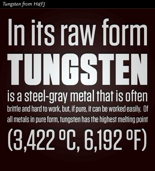 Tungsten typeface from Hoefler & Frere-Jones