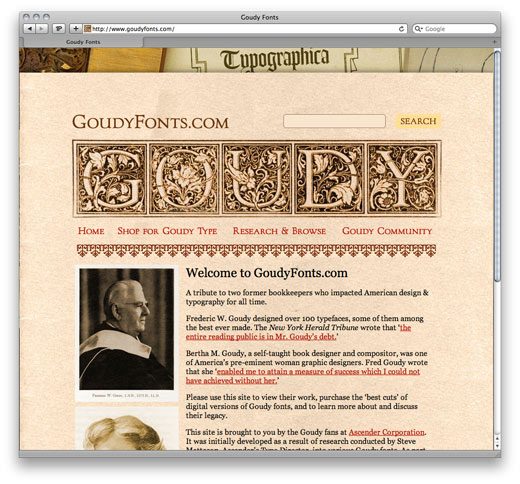 goudy-fonts