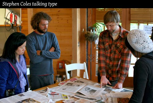 instructor stephen coles type camp