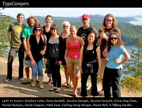 type camp 2009 galiano