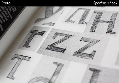Preto fonts