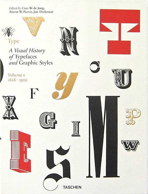 cover photo: Type, a visual history of typefaces and graphic styles