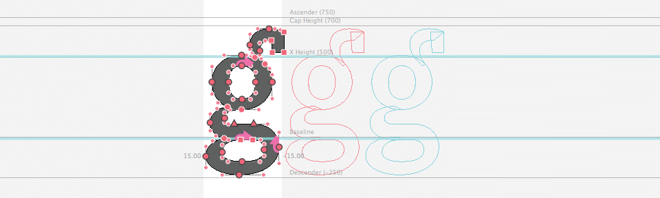 Screenshot Drawing in RoboFont