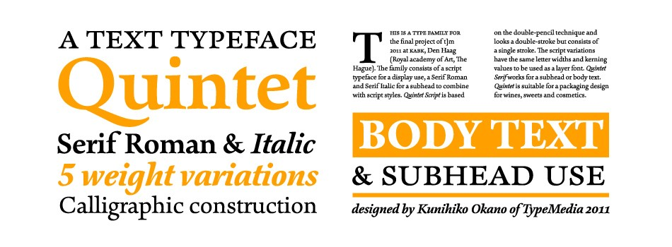 fonts, typefaces and all things typographical — I love Typography (ILT)