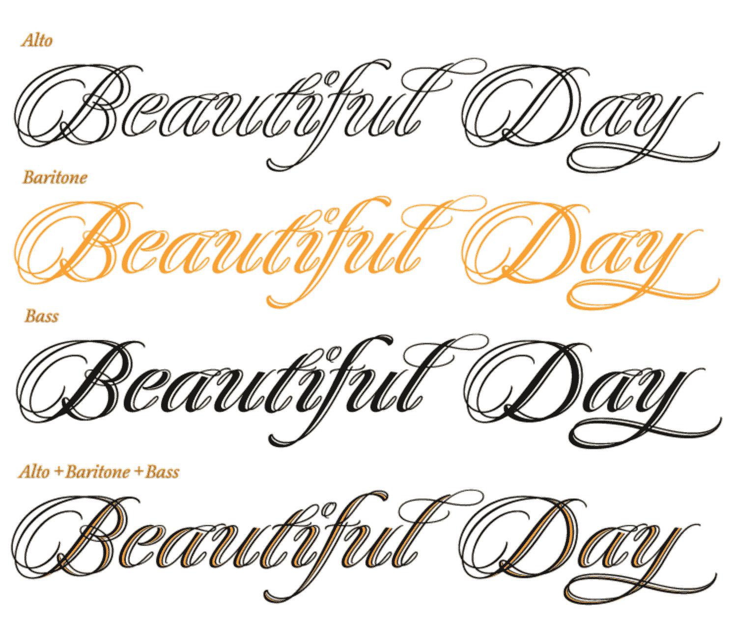 quintet-layer-font