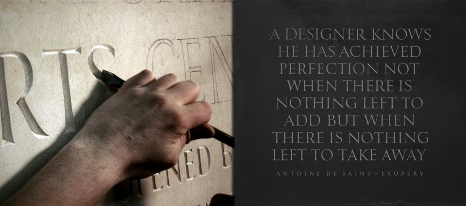 I Love Typography » Blog Archive Letters & Stone — I Love