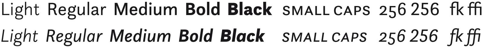 [17] Sans Light to Black