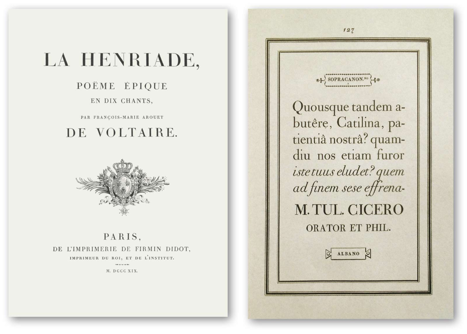 [19] Didot 1819 and Bodoni 1818