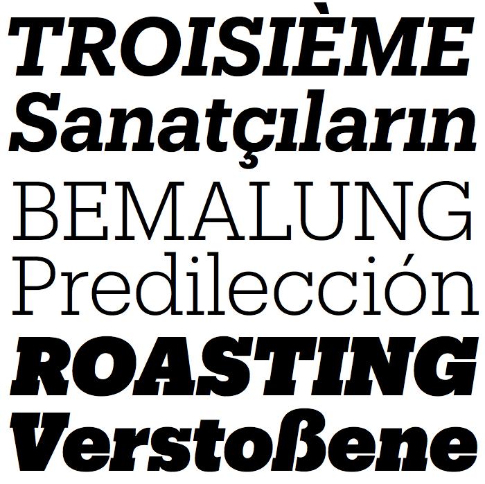 Produkt-fonts