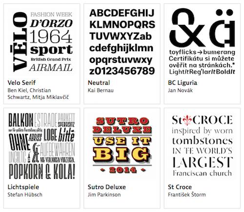 Typographica Best of 2014