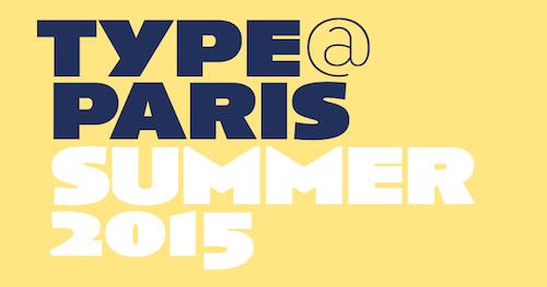 type-at-paris-2015