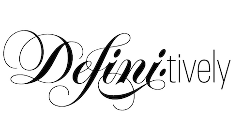 Blog-Definitions typography
