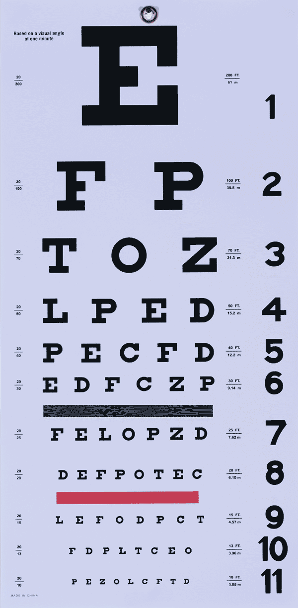 image regarding Children's Eye Chart Printable identified as fonts, typefaces and all elements typographical I enjoy