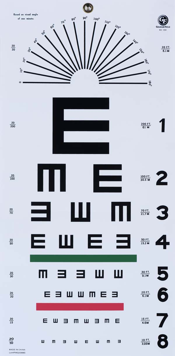 photo about Children's Eye Chart Printable called fonts, typefaces and all aspects typographical I appreciate