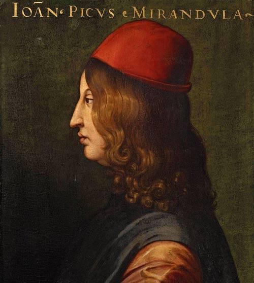 Portrait of Pico della Mirandola