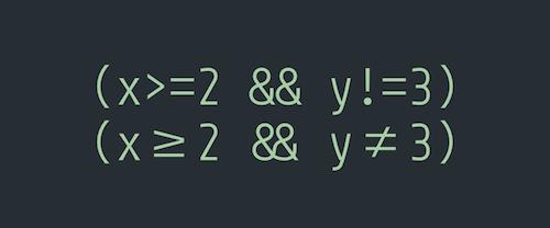 coding-ligatures