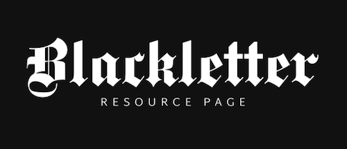 blackletter-resource-page