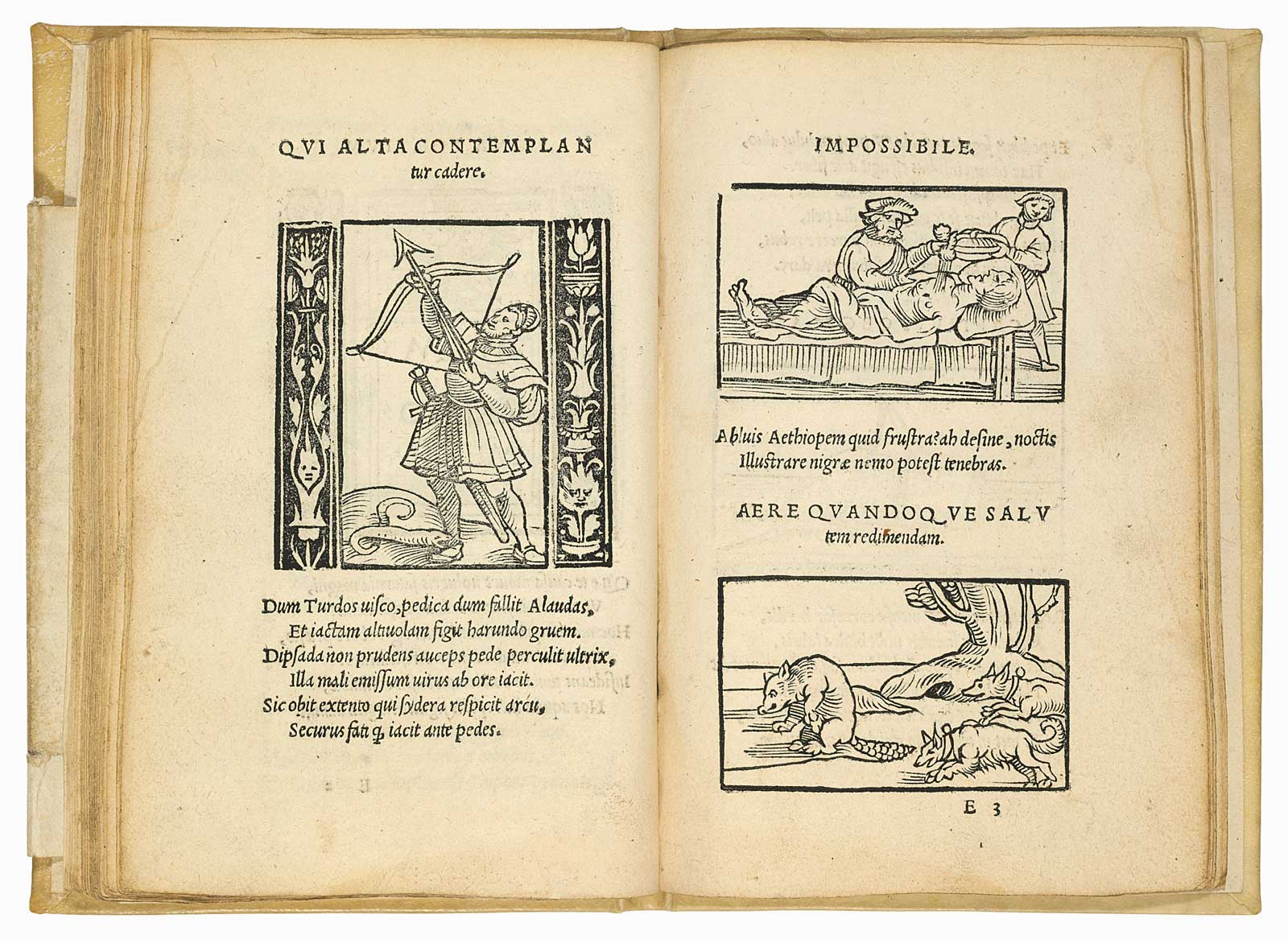 first ever emblem book, published in 1531