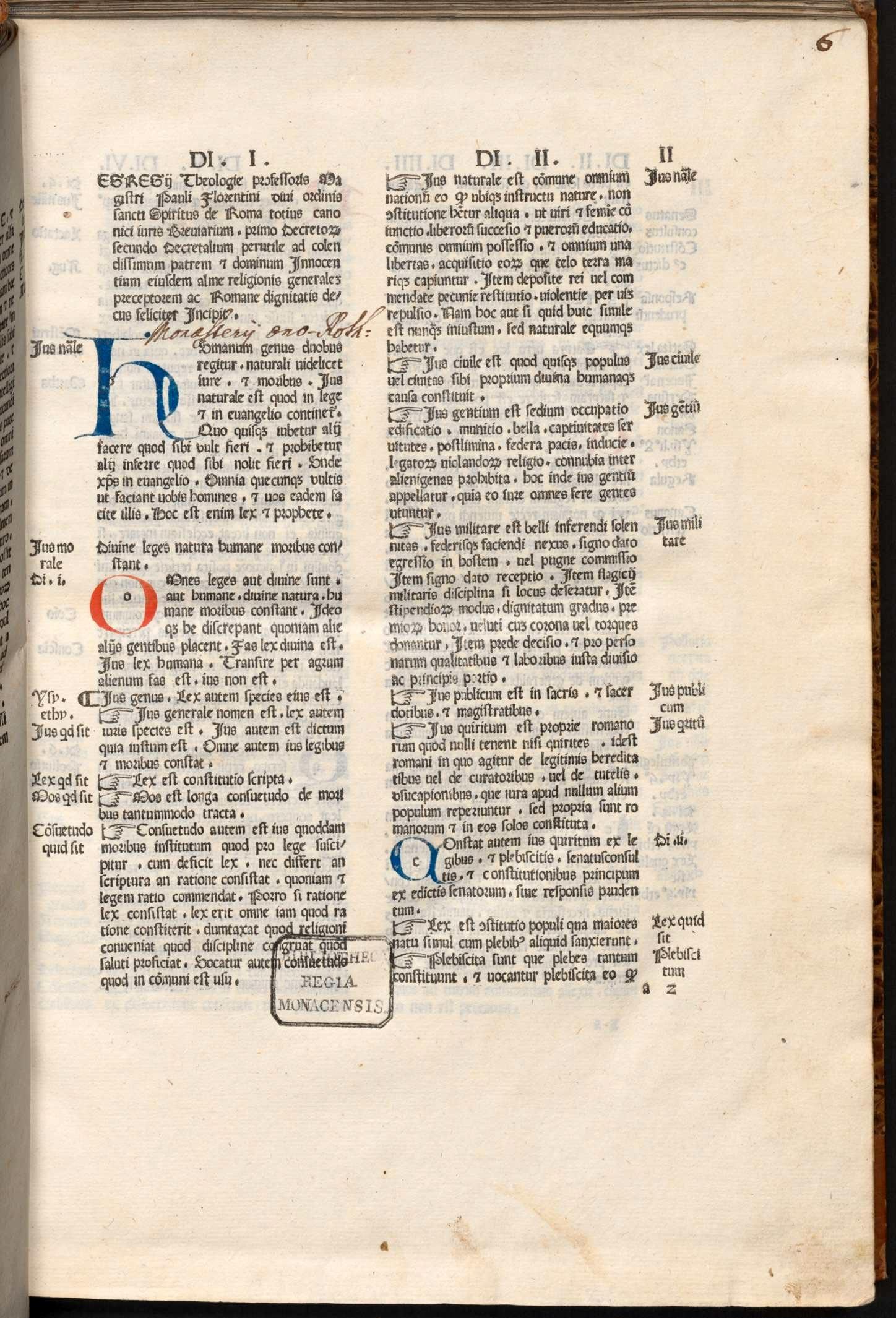 Breviarium iuris canonici.