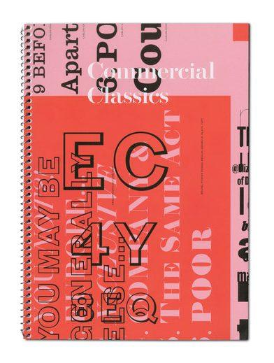 Commerical Classics Type Specimen