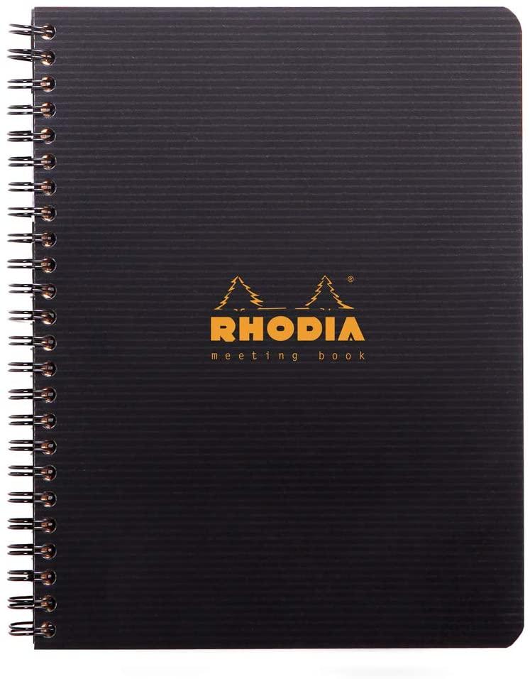 Rhodia PP Wirebound Meeting Book, A5