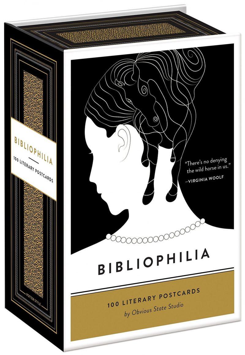 Bibliophilia: 100 Literary Postcards