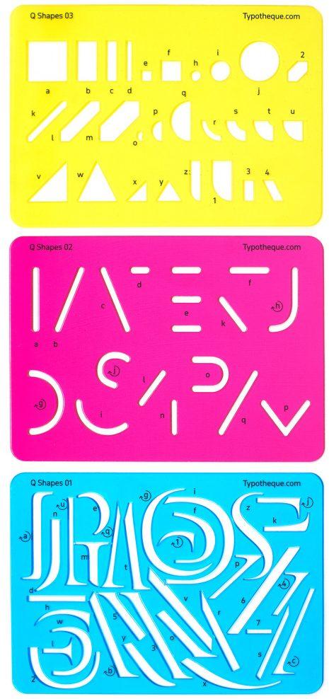 stencil set