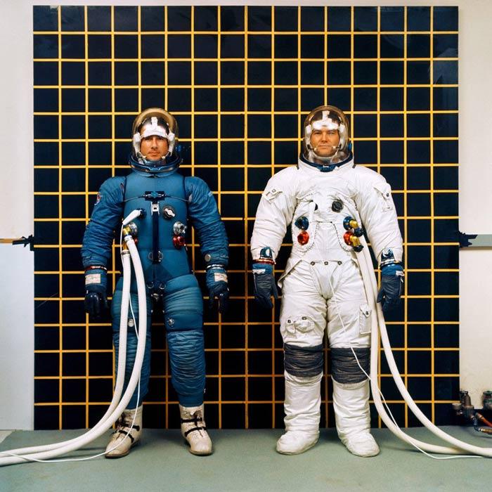 Apollo space suits print