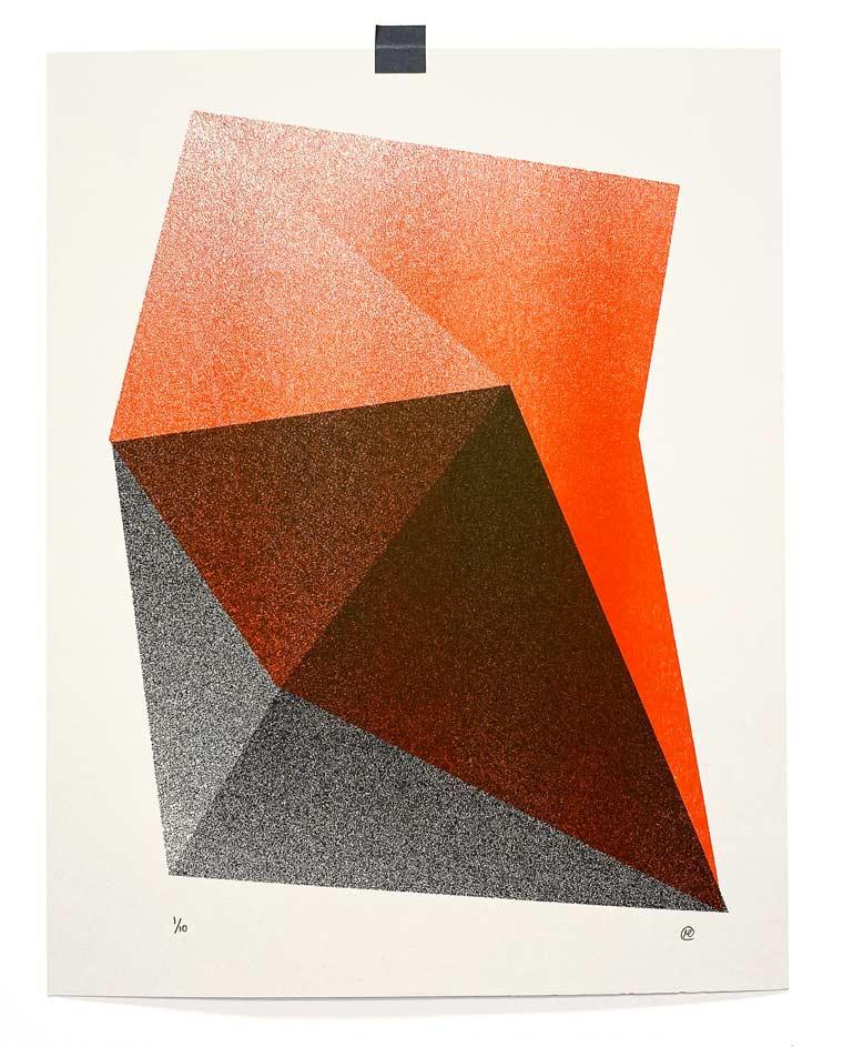 Riso prints from Ryan Putnam
